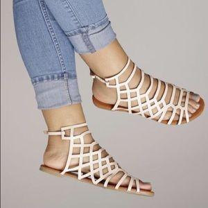 Shoes - Blush gladiator sandals
